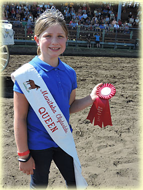 Morgan Sherman - Manitoba Clydesdale Club Queen